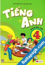 Sách bài tập Tiếng anh lớp 4