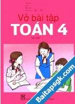 Sách bài tập Toán lớp 4